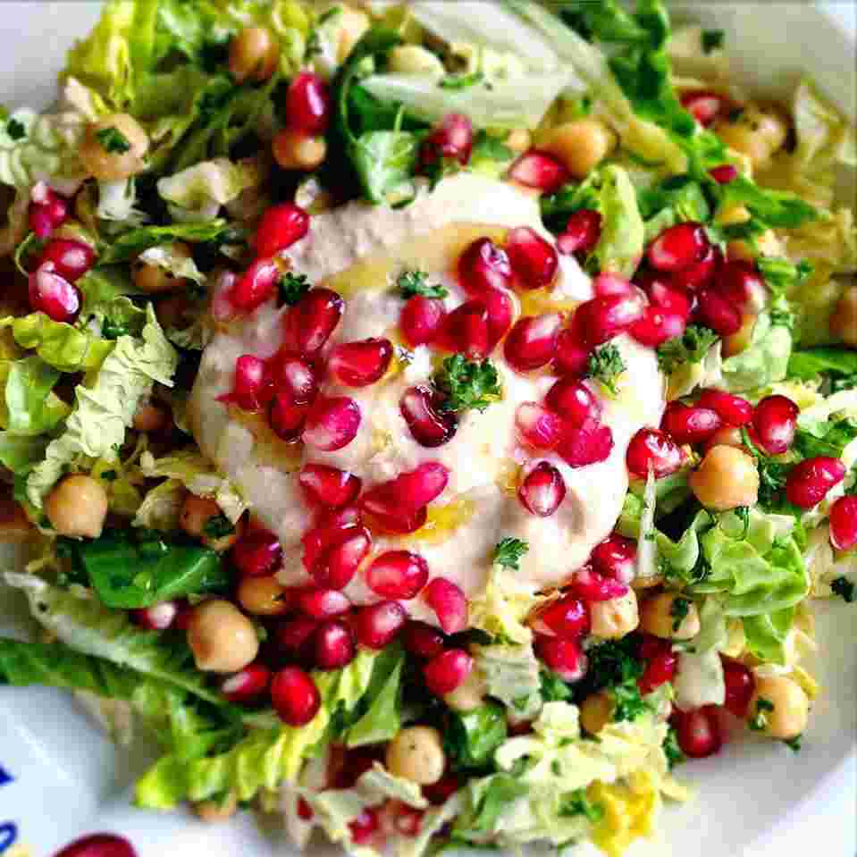 little gem salade met granaatappel.jpg